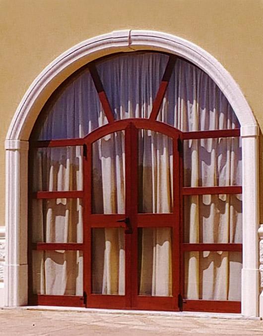 Cornici in cemento per finestre ad arco - Cornici esterne per finestre ...